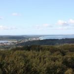 Jagdschloss Granitz Rügen Blick auf Binz