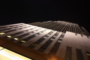 Blick nach oben Rockefeller Center