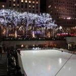 Für 21$ Eislaufen am Rockefeller Center