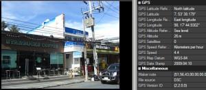 GEO-/GPS-Daten in exif-Infos