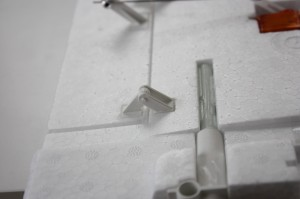 Einbau Landeklappen Scharnirere FunCub Multiplex
