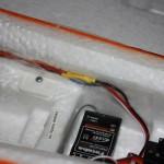 Parkzone Extra 300 Detail Verlängerung Querruderservo Kabel