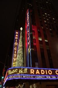 Radio City Music Hall am Rockefeller Center