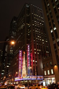 Radio City Music Hall am RockefellerCenter