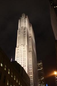 Rockefeller Center nachts