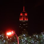 230 Rooftop Bar New York Blick auf Empire State building