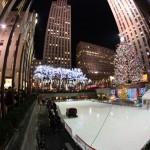 Rockefeller Center nachts 360°