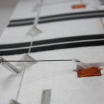Einbau Servohebel Landeklappen FunCub Multiplex