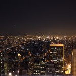 Top of the Rock: Blick zum Central Park