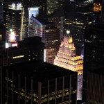 Top of the Rock: Blick nach Süden, Time Square Ball drop
