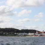 Kurhaus Binz auf Rügen vom Meer