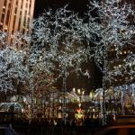 Weihnachtliche Stimmung am Rockefeller Center