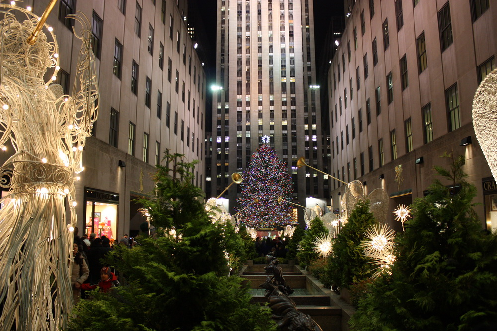ein besuch wert weihnachtsbaum am rockefeller center. Black Bedroom Furniture Sets. Home Design Ideas
