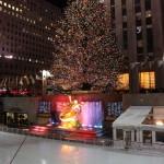 Ein Besuch Wert: Weihnachtsbaum und Eislaufen am Rockefeller Center